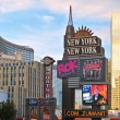 The Strip, Las Vegas, United States — Stock Photo