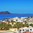 Lobos Island and Corralejo in Fuerteventura, Spain — Stock Photo #11505654