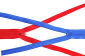 Zippers — Stock Photo