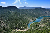 Siurana River in Tarragona Province, Spain — Stock Photo