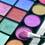 Eye shadow palette — Stock Photo #11734426