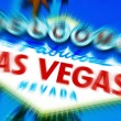 Welcome to Fabulous Las Vegas sign — Stock Photo #11897236