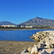 Puerto Banus in Marbella, Spain - Stock Photo