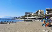Venus Beach in Marbella, Spain — Stock Photo