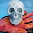 Halloween items - Stockfoto