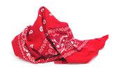 Red bandana — Stock Photo