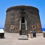 Torre del Toston in El Cotillo, Fuerteventura, Canary Islands, S — Stock Photo