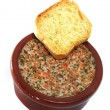 Pate whit herbs — Stock Photo