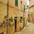 Mediterranean village — Stock Photo