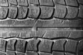 Pneumatic tyre — Stock Photo