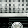 Antique radio — Stock Photo