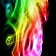 Stock Photo: Colors Smoke