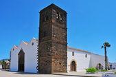 Chiesa di nostra signora della candelaria in la oliva, fuerteventura, può — Foto Stock