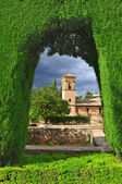La alhambra i granada, spanien — Stockfoto