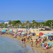 Foto de Stock  : Prat de en Fores Beach, in Cambrils, Spain