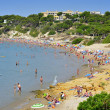 Foto de Stock  : PlatjLlargbeach, in Salou, Spain