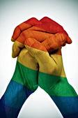 同性愛者の連合 — ストック写真