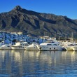 Puerto Banus in Marbella, Spain — Stock Photo