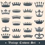 Crown set2 — Stock Vector #11330465