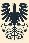 Heraldic eagle — Vetor de Stock