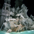 Fountains on Navona Square, Rome — Stock Photo