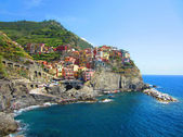 Village on Italian Coast — Stock Photo