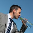 Drinking in blue sky — Stock Photo #10803969