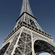 Eiffel tower with special photographic processing — Stock Photo #11072901