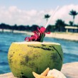Beach coconut spirit — Stock Photo #11077738