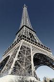 埃菲尔铁塔与摄影的特殊处理 — 图库照片