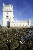 Famous Tower of Belem — Stock Photo