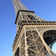 Part of famous Eiffel tower — Stock Photo #11640920