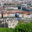 Lyon city in summer — Stock Photo