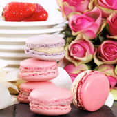 Pink sweet square — Stock Photo