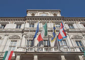 Palazzo di Citta, Turin — Stockfoto