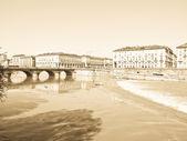 Piazza vittorio, torino — Stok fotoğraf