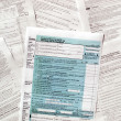 Tax forms — Stock Photo #11079862