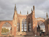 Coventry Cathedral ruins — Stock Photo