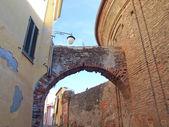 Rivoli old town, Italy — Stock Photo
