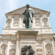 Stock Photo: Manzoni statue, Milan