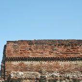 Muro romano, torino — Foto Stock