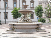 Piermarini Fountain, Milan — Stock Photo