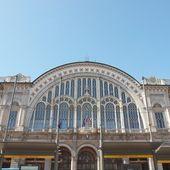 Stazione di porta nuova, torino — Foto Stock