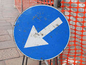 Ok işareti — Stok fotoğraf