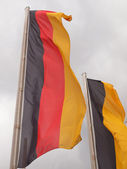 Drapeau allemand — Photo
