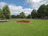在斯图加特,德国花园 — 图库照片