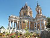 Basilica di superga, em turim, itália — Fotografia Stock