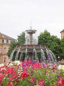 Schlossplatz (Castle square) Stuttgart — 图库照片