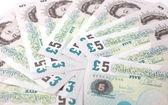 Pound note — Stock Photo