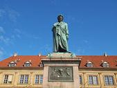 席勒的雕像斯图加特 — 图库照片